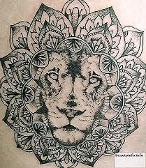 Tetování Lev A Lvice