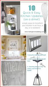 10 budget kitchen renovation ideas on a dime via makinglemonadeblog com