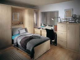 home office bedroom combination. Alto Bespoke Wall Bed In Maple Home Office Bedroom Combination M