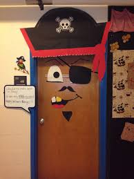 classroom door decorations for halloween. My Classroom Door Decorated As A Pirate For Halloween Doors Theme Vbs Decor Decoration School Pirates Decorations R