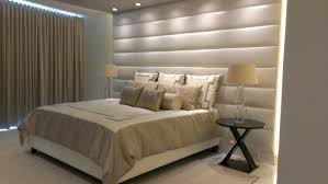 Small Picture Bedroom Tips and Ideas to Install Stylish Padded Wall Panels for