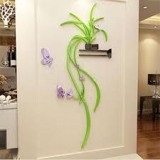 acrylic diy 3d flower wall