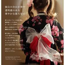 浴衣 子供 女の子 セット 浴衣ドレス風甚平プチ兵児帯セット子供服