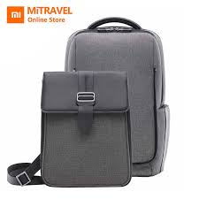 <b>Xiaomi Mi</b> Backpack 2 in 1 Detachable Backpack Dual Capacity ...