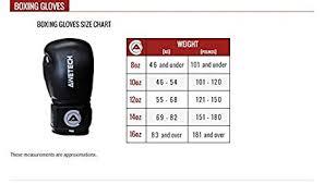 Boxing Glove Size Chart Awetech Boxing Gloves