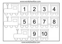 Preschool Number Chart 1 10 Number Chart 1 10 1 Worksheet Free Printable Worksheets