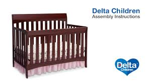 the delta children remi 4 in 1 crib assembly