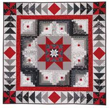 Black And White Quilt Patterns Inspiration Log Cabin ABCs At From Marti Featuring Quilting With The Perfect