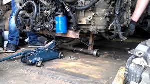 установка двигателя Renault Espace - YouTube