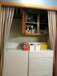 ideas for closets without doors laundry room closet door ideas a design and ideas laundry room ideas for closets