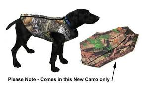 Dog Vest 3mm Neoprene Camo Choose Size