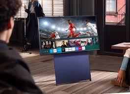 TRẢ GÓP 0% - Tivi Qled The SERO Samsung QA43LS05TAKXXV 43inch 4K-S Ultra HD  Màn hình xoay tối ưu hoá với nội dung điện thoại