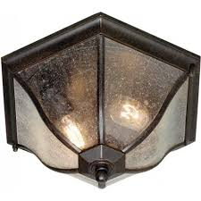 new england traditional flush fitting porch ceiling light ip44