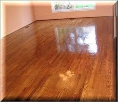 after hardwood floor sandless refinishing