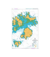 Admiralty Chart 2675 British Admiralty Nautical Chart 883 Saint Marys And The Principal Off Islands