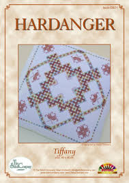 Hardanger Chart Tiffany The Stitch Company Marjo Timmers