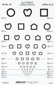 Snellen Chart 20 Feet Good Lite 250412 Mckesson Medical Surgical