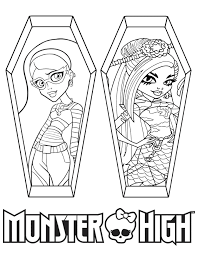 Small Picture Monster High Ghoulia Coloring Pages GetColoringPagescom