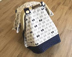 Boy carseat canopy
