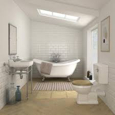 Keswick Traditional Roll Top Bath Suite (1750mm) | Roll top bath ...