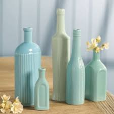 Decorative Colored Glass Bottles Home decor colored glass bottles Home decor 44