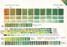 Watercolor Mixing Chart Download Watercolour Mixing Charts Jane Blundell Artist
