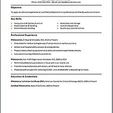 Free Phlebotomist Resume Templates phlebotomy resume templates phlebotomist resume samples visualcv 81