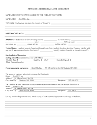 Apartment Lease Agreement Free Printable New Blank Rental Agreement