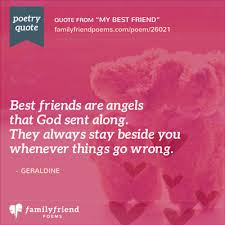 Support Quotes For Friends 51 Best Poem For Saying Thanks To A Great Friend My Best Friend