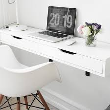 Small Space Powerhouse: The 10 Best Wall-Mounted & Floating Desks | Wall  mounted desk, Floor space and Small apartments