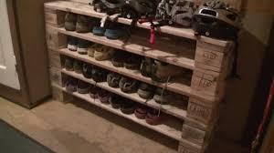 Pallets Shoe Rack From Pallets Youtube