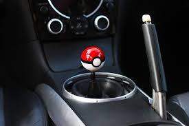 Amazon Kei Project Pokemon Pokeball Round Shift Knob