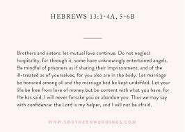 Bible Quotes For Wedding Simple Wedding Bible Readings Hottest Wedding Ideas 48 Modernweddings