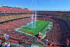 Fedex Field Landover Md Seating Chart Fedex Field Washington Redskins Football Stadium Stadiums