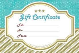 Guitar Lesson Gift Certificate Template Free Printable And Editable Gift Certificate Templates Promotions