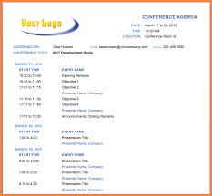 Event Agenda Sample 24 event agenda sample Bussines Proposal 24 1