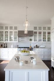 Latest Designs In Kitchens Gorgeous Stacked Cabinets Transitional Kitchen R Cartwright Design