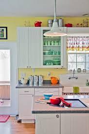 sunny retro kitchen contemporary