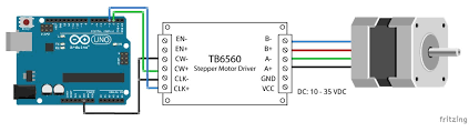 tb6560 stepper motor driver with
