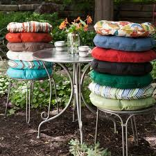 appealing outdoor round bistro chair cushions with 22 best cushions images on