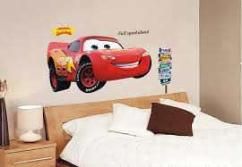 wall sticker for boy nursery wall sticker for kids cartoon red car nursery wall