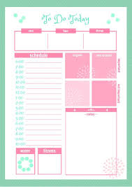 planner page template 46 of the best printable daily planner templates kittybabylove