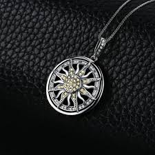 <b>Jewelrypalace</b> celestial sun <b>925 sterling</b> silver cubic zirconia charm ...