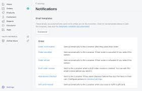 Order Confirmation Add A Tracking Link To Shopify Email Templates Shoppad Knowledge Base
