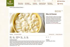panera mac and cheese nutrition facts.  Facts 6 Panera Bread Mac U0026 Cheese Whole Inside And Nutrition Facts A