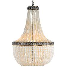 chanteuse white beaded chandelier creative chandeliers pics