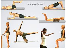 easy at home exercises ilrations and videos no equipment needed