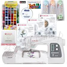 Futura Embroidery Designs Singer Futura Xl 550 W Bonus Package Software Stabilizer