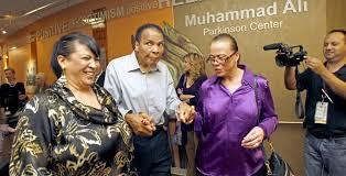 「it was revealed Ali had Parkinson's disease.」の画像検索結果