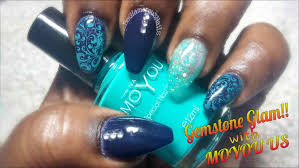 Painting Pen Designs For Blue Gallery Nail Teal Glitter Acrylic ...